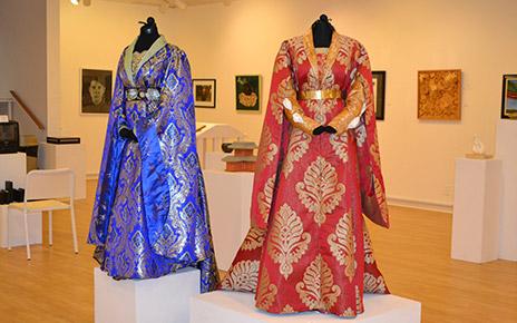 Allen's costumes on display