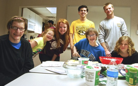 Service-Learning students