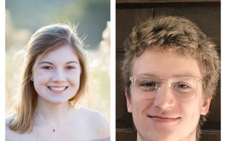 Portraits of Mollie Harrison and Jonathan Fajen