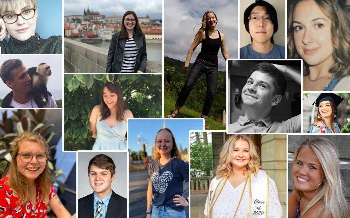 Collage of MU Writing Center tutors
