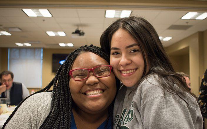 TRiO students smiling